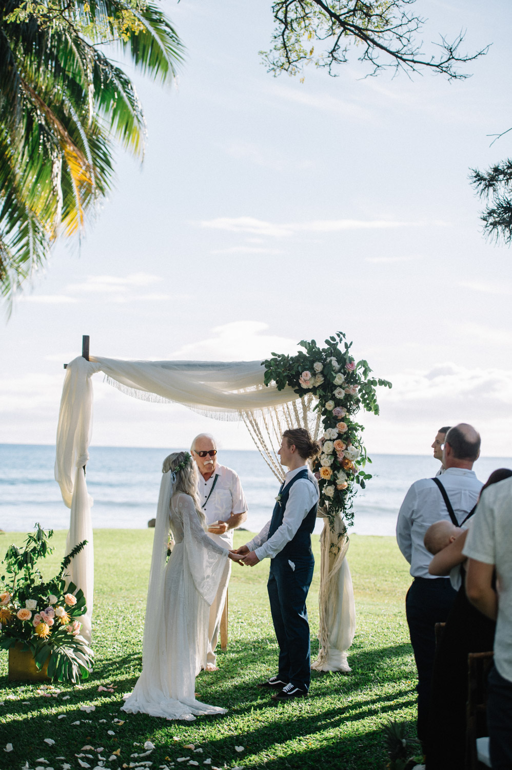 Maui wedding Olowalu Plantation House by Tara Kneiser
