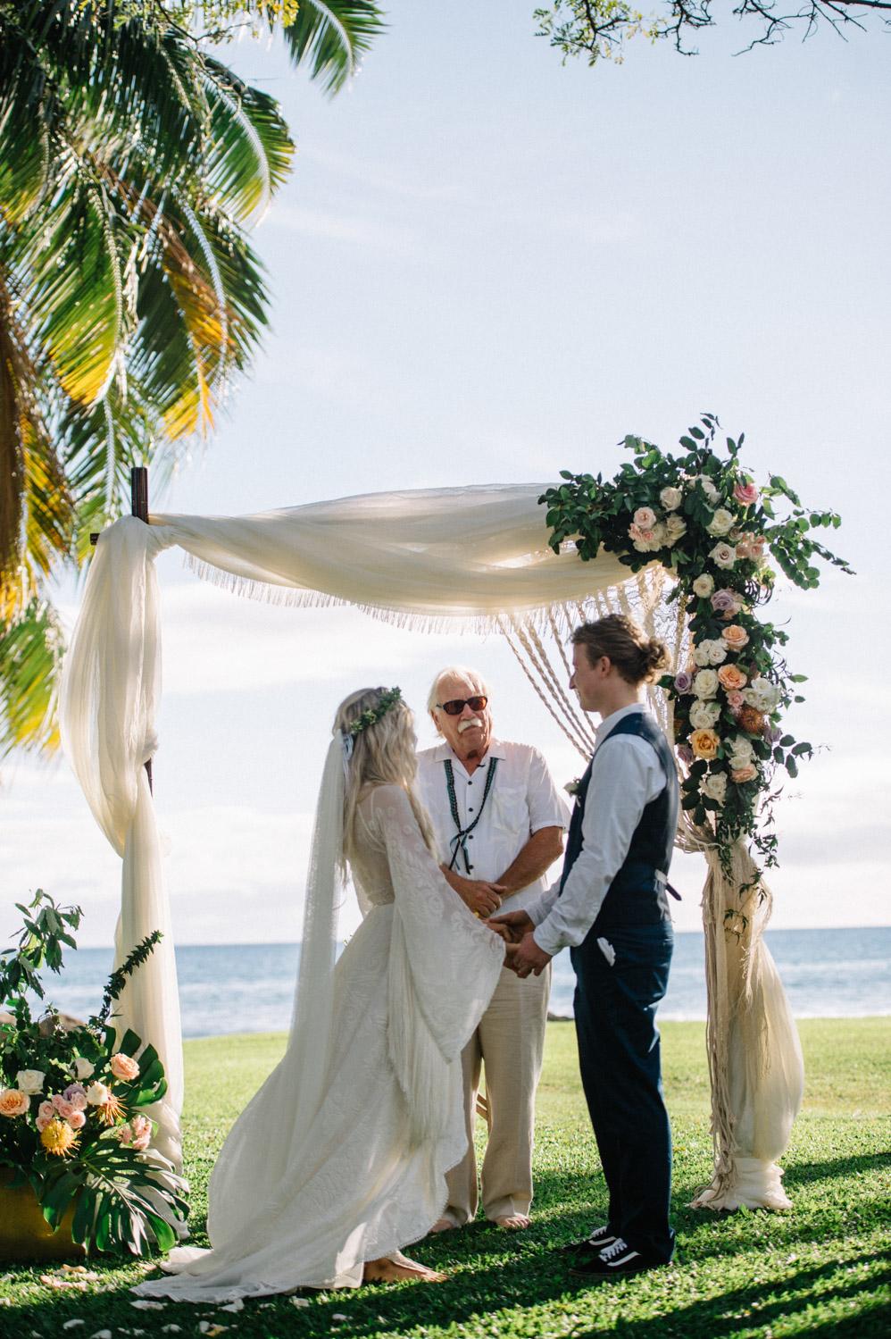 Boho Maui Wedding