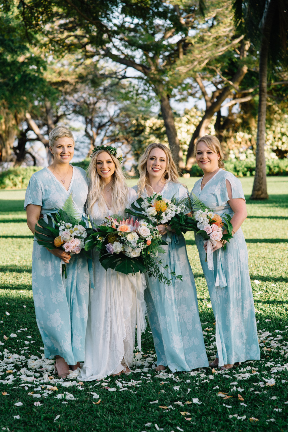 Hawaii wedding Boho