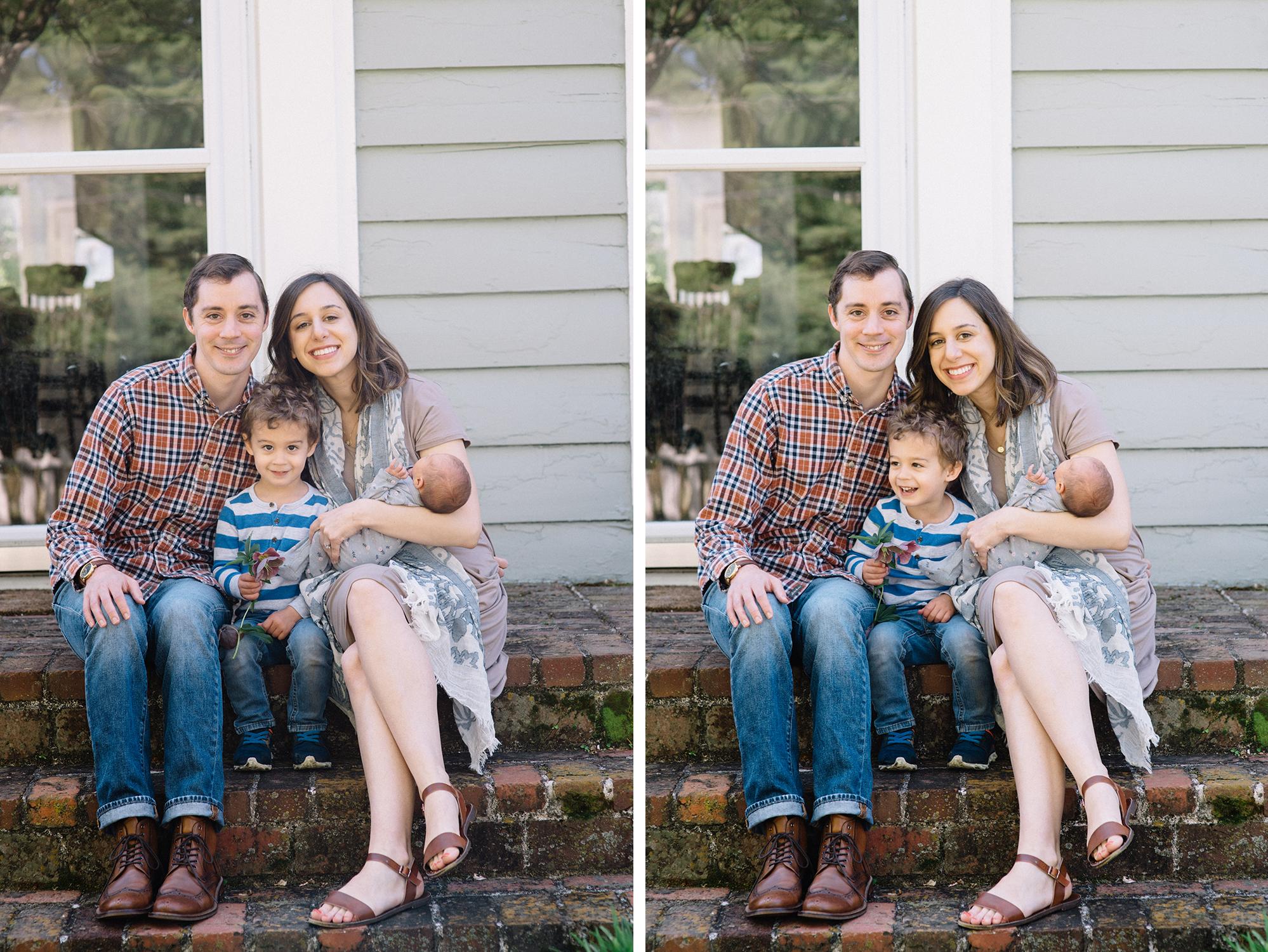 Knoxville family portrait